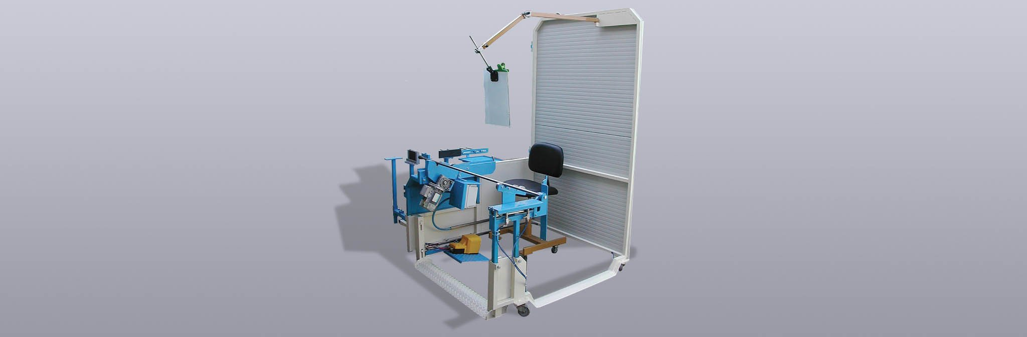 Working chair hollow glass
